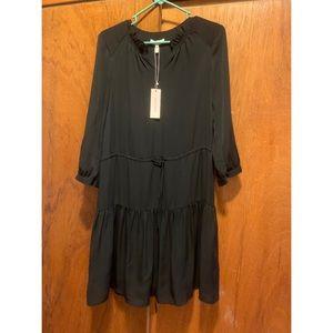 NWT Rebecca Taylor Black Dress